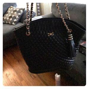 Handbags - Black bucket purse